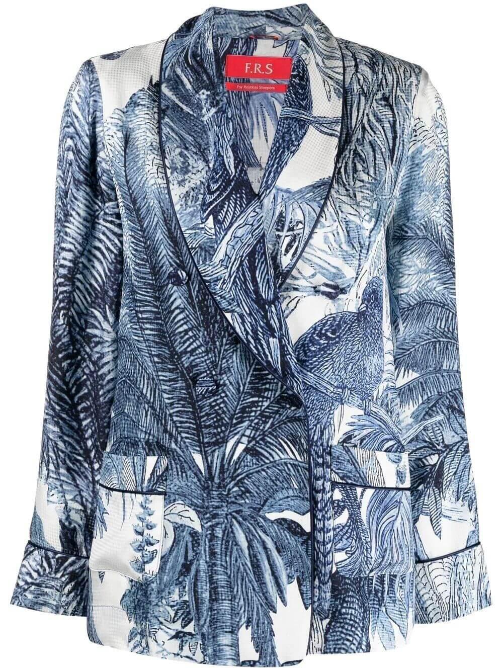 Palm Print Jacket Item # GA000314-TE00537-179