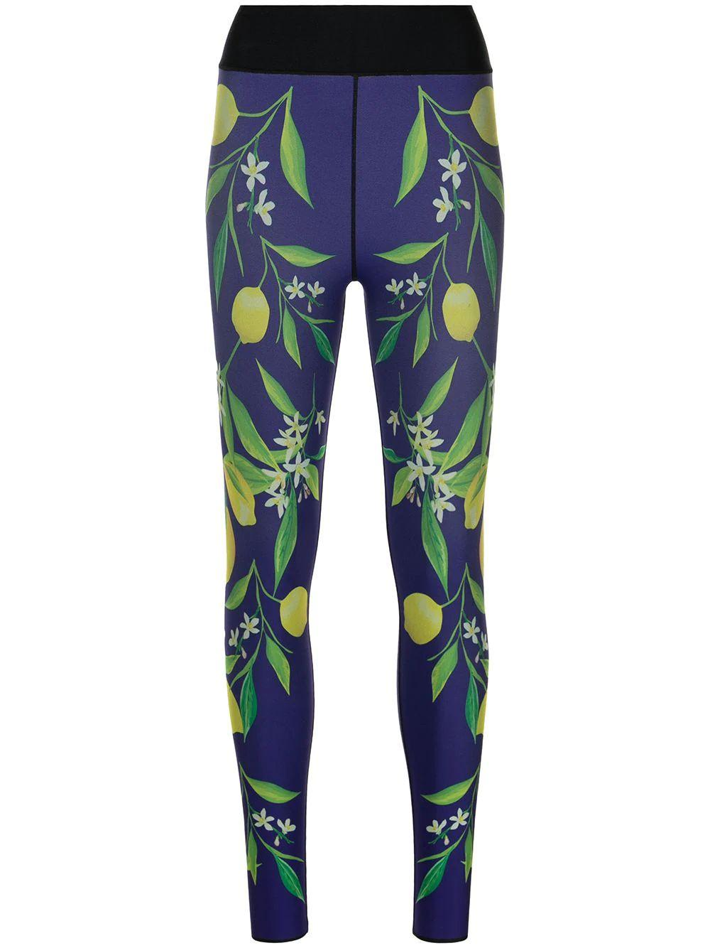 Lemon Bloom Ultra High Leggings