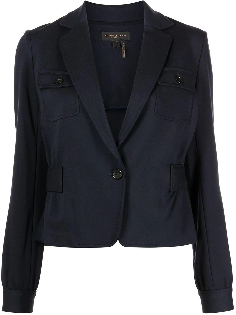 One Button Blazer Item # D0BC8Z03