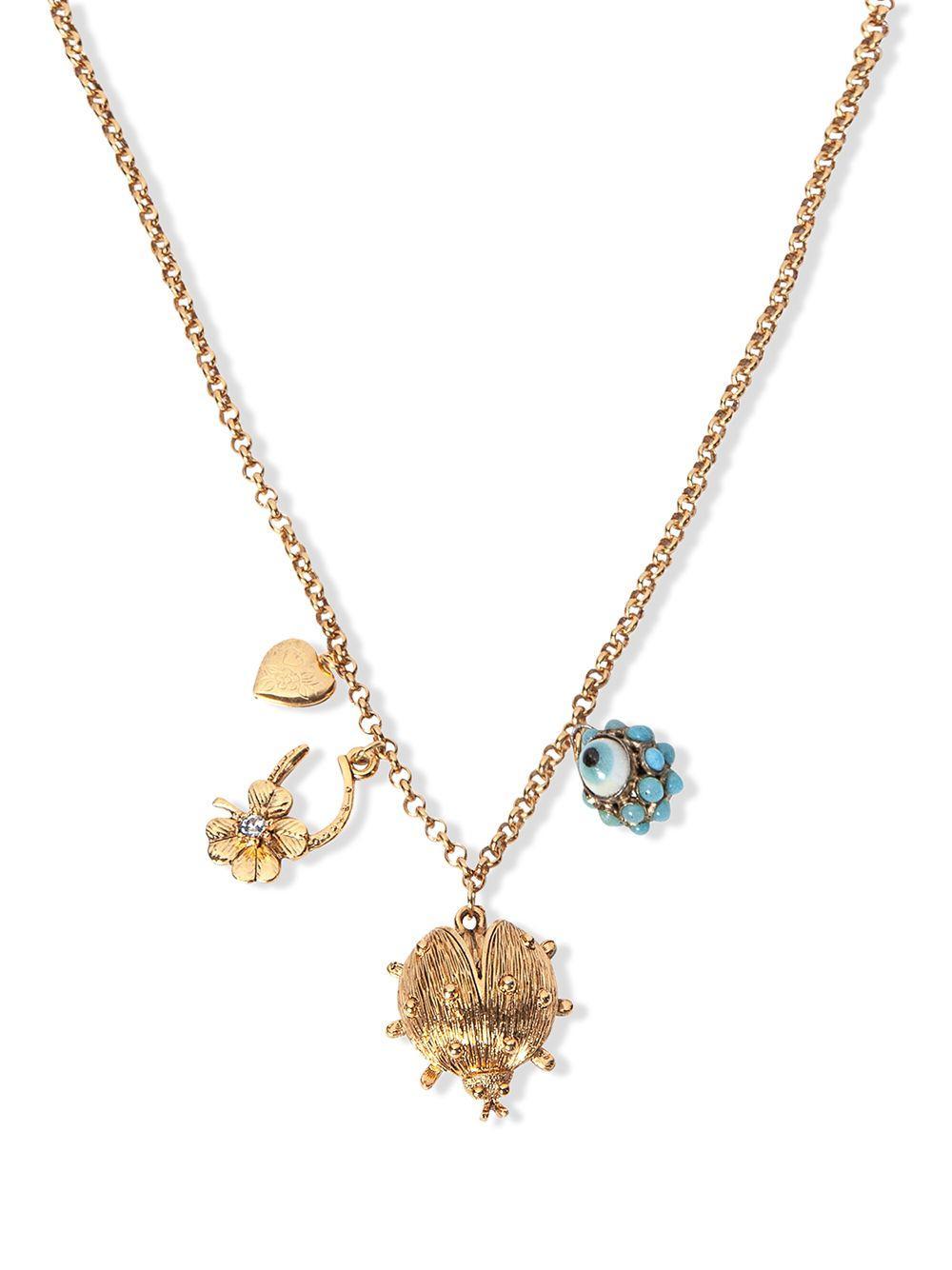 Marquita Charm Necklace Item # 111PA16