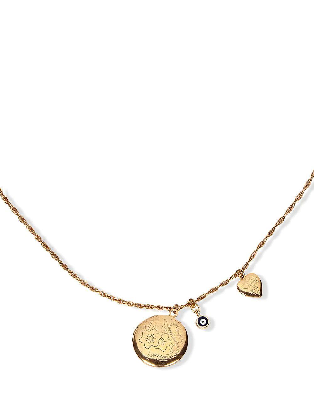 Mila Charm Necklace Item # 111PA18