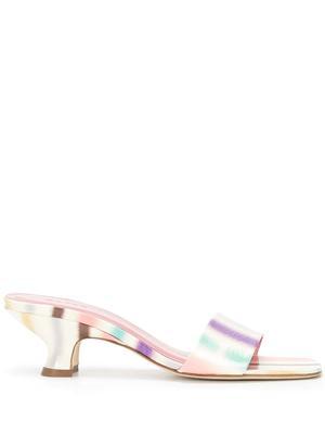 Freddy Striped Slide Sandals