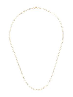14kt Mini Paper Clip Chain Necklace