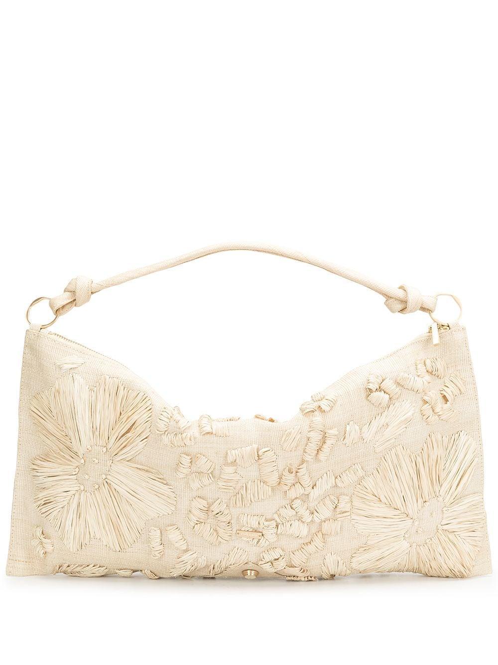Hera Embroidered Shoulder Bag
