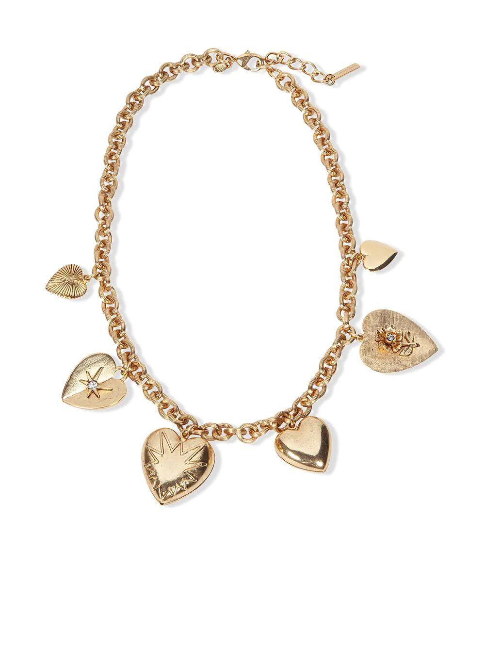 Avila Heart Necklace Item # 111PC6