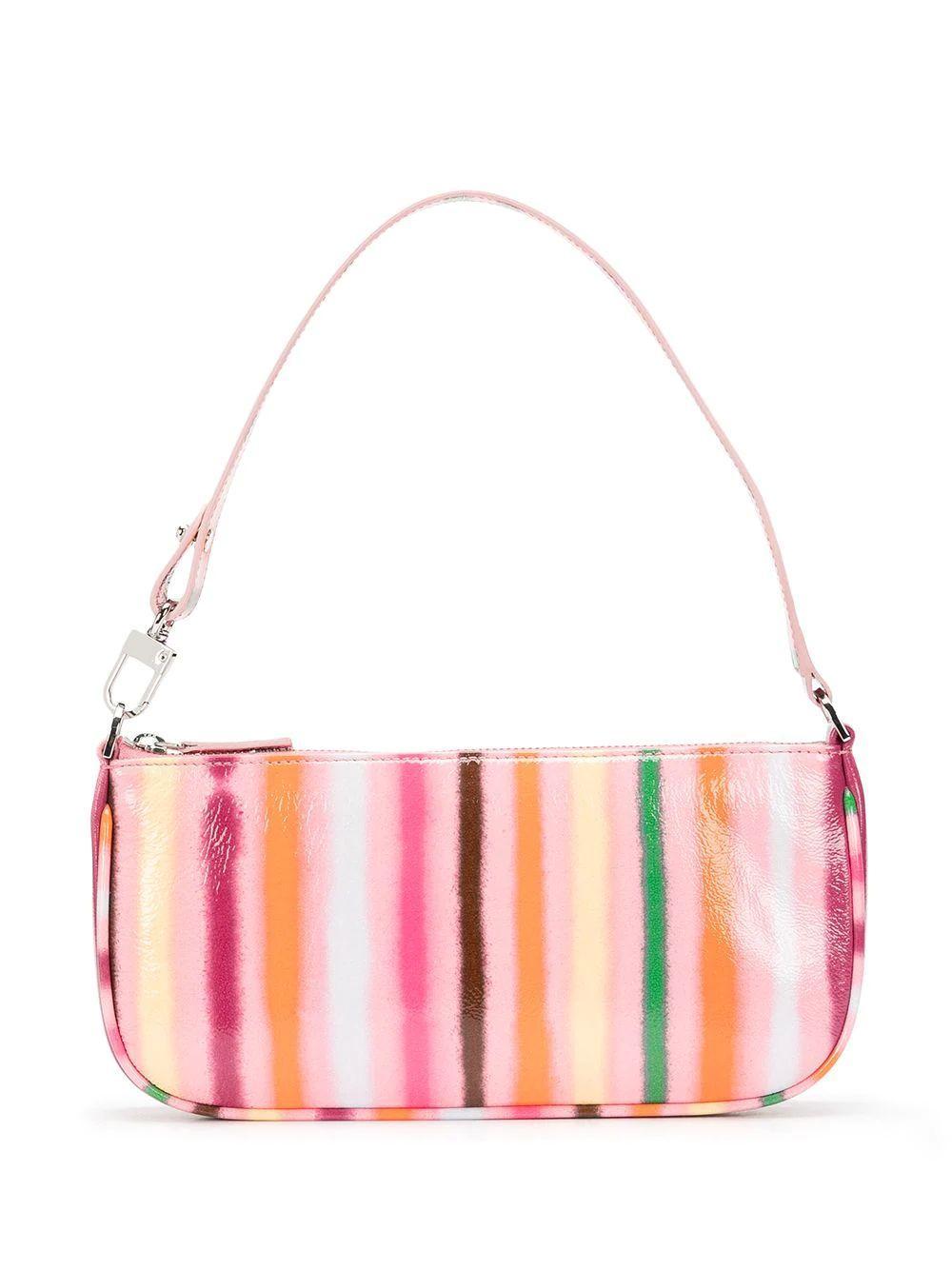 Rachel Striped Shoulder Bag