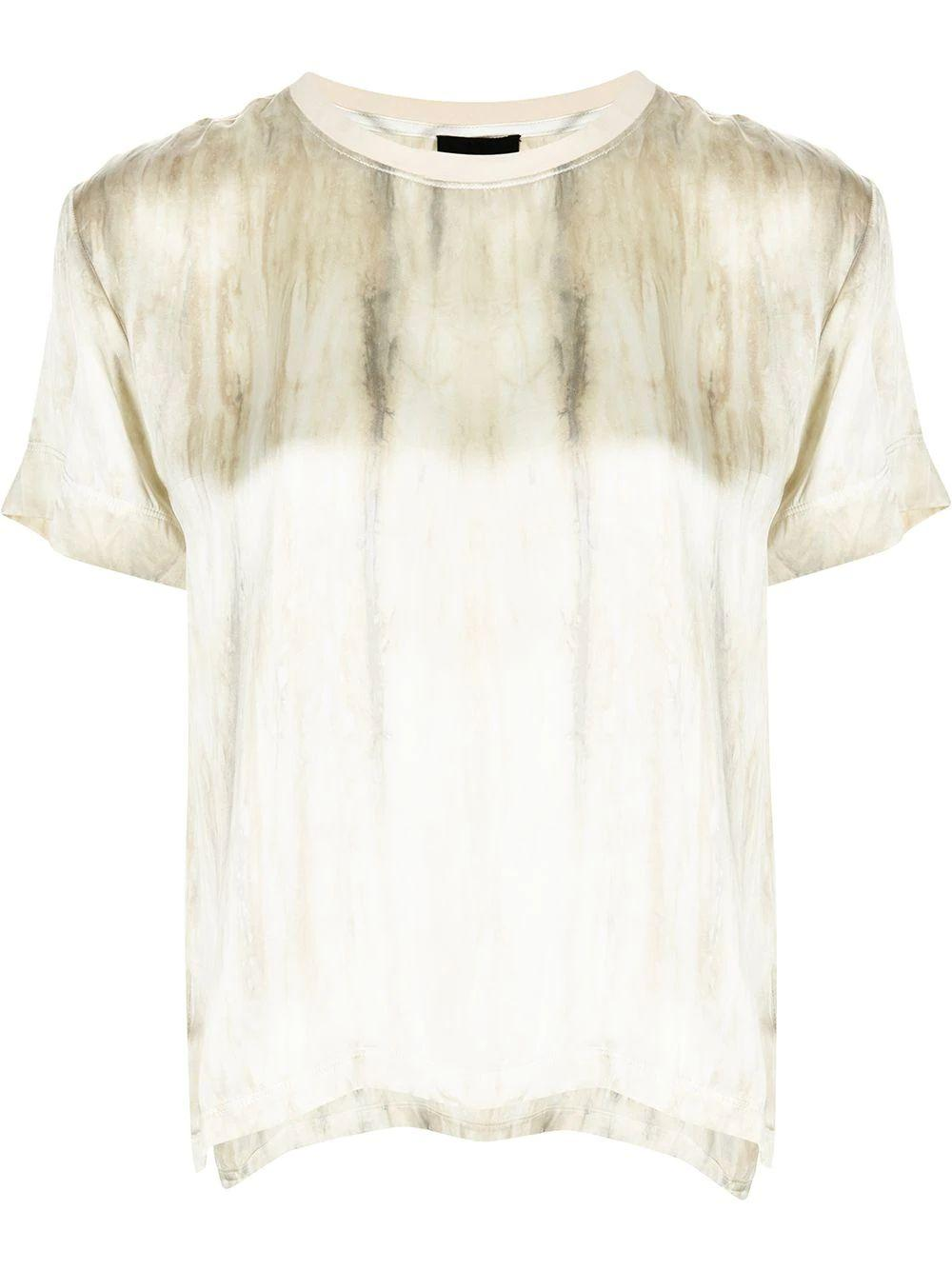 Silk Watercolor T-Shirt