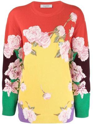 Maglia Floral Sweater
