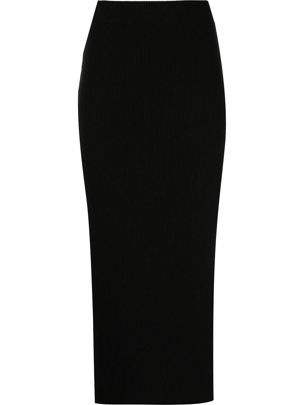 Ribbed Pencil Skirt Item # V735983668