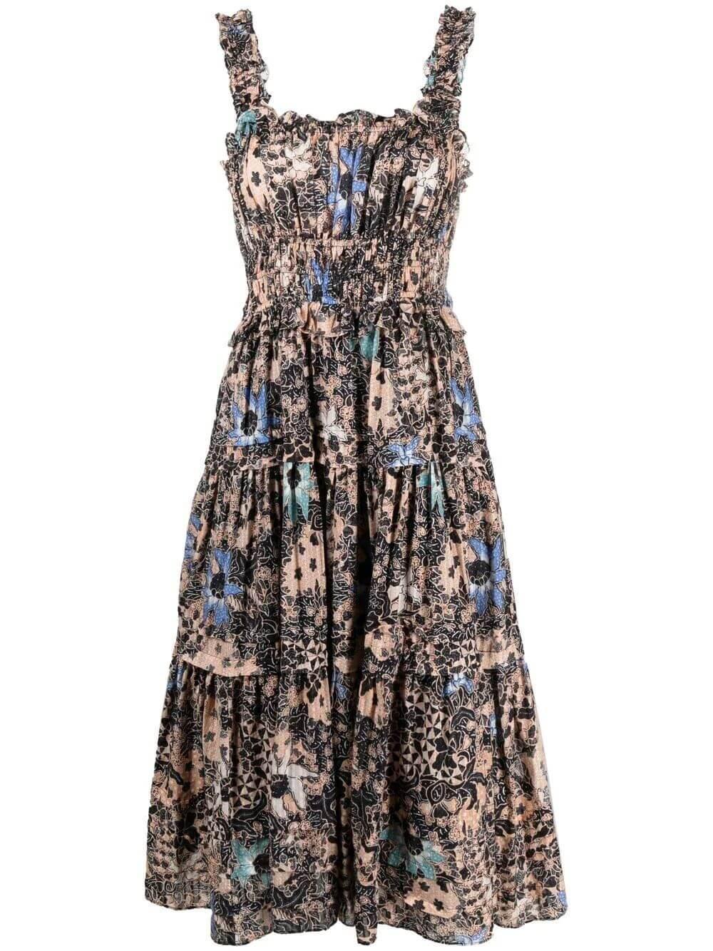 Annisa Midi Dress Item # SP210128