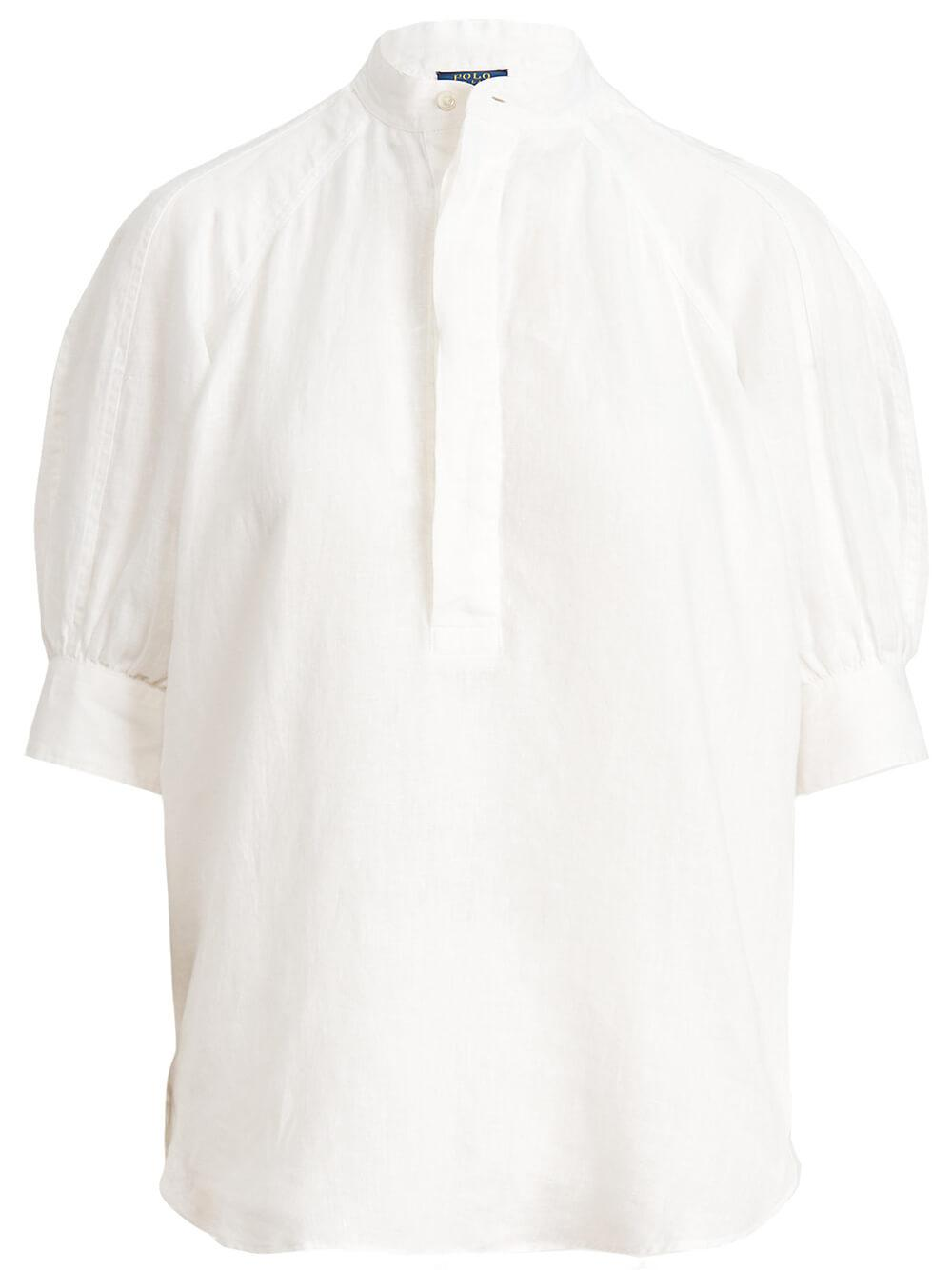 Cici Mid-Sleeve Blouse