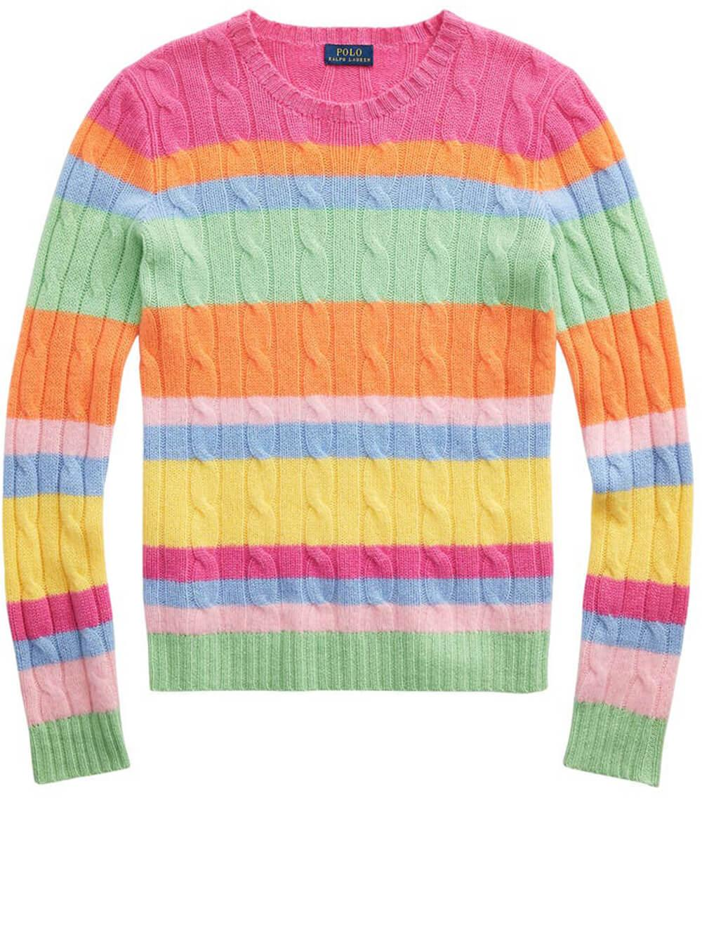 Julianna Multi Stripe Sweater Item # 211838163001