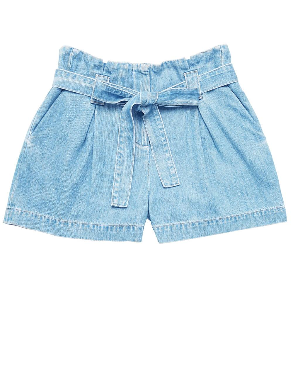 Hillary Paperbag Shorts Item # 2636KDS