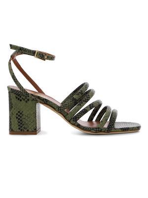 Linda Block Heel Sandal