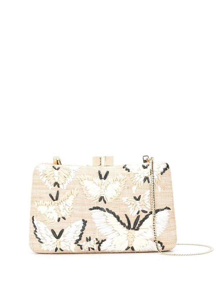 Charlotte Embroidered Clutch Item # 10419