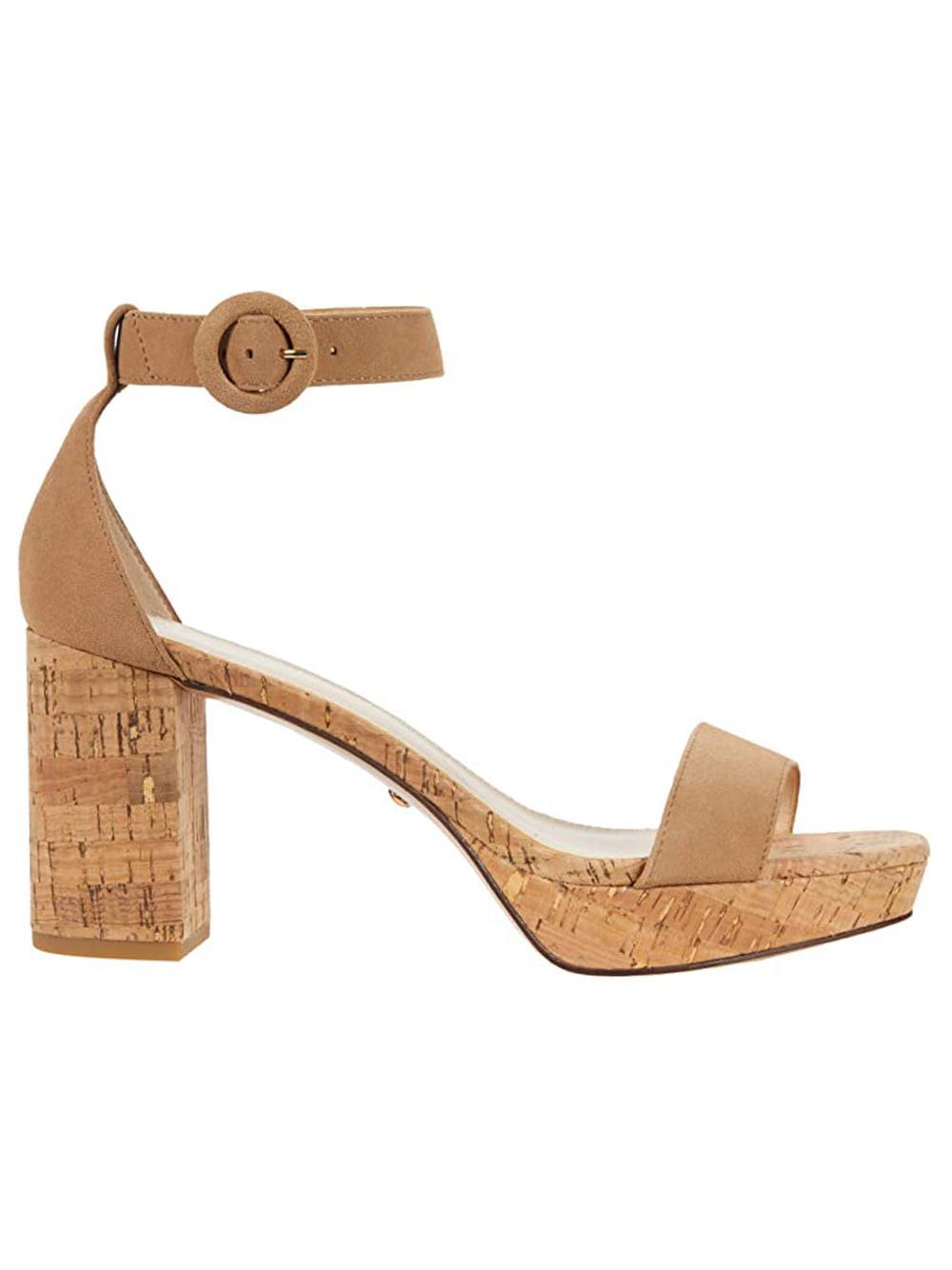 Amari Platform Cork Sandal Item # AMARI