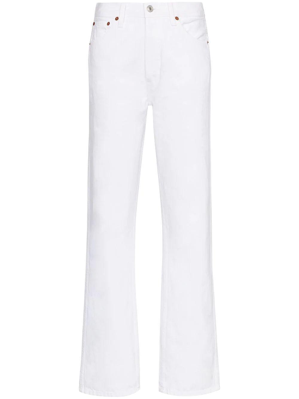 90s High Rise Straight Leg Jeans Item # 184-3WHRL