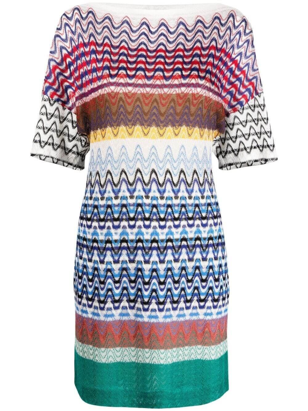 Knit Drop Shoulder Dress Item # MDG00995-BR00EO