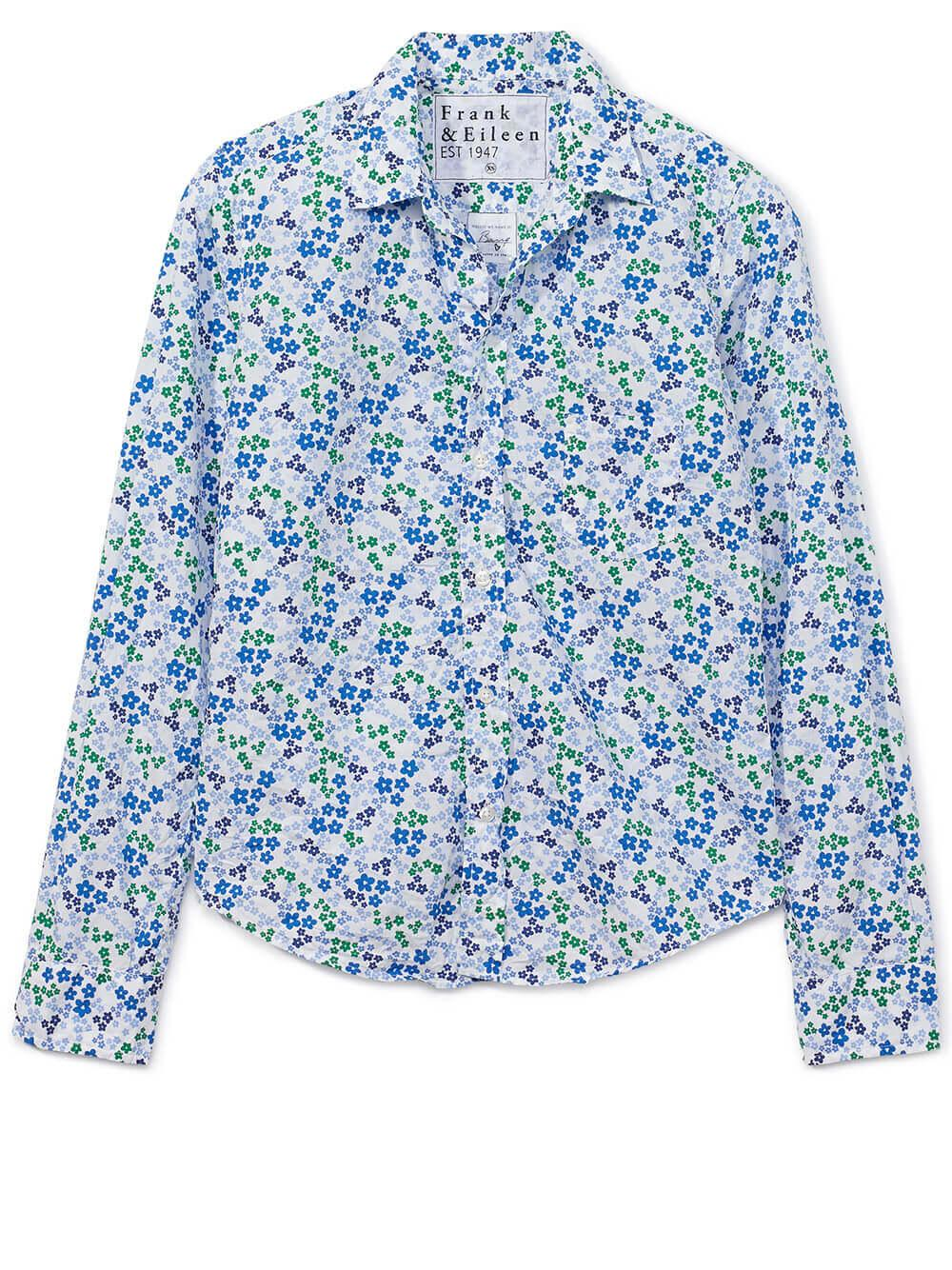 Barry Floral Print Button Down