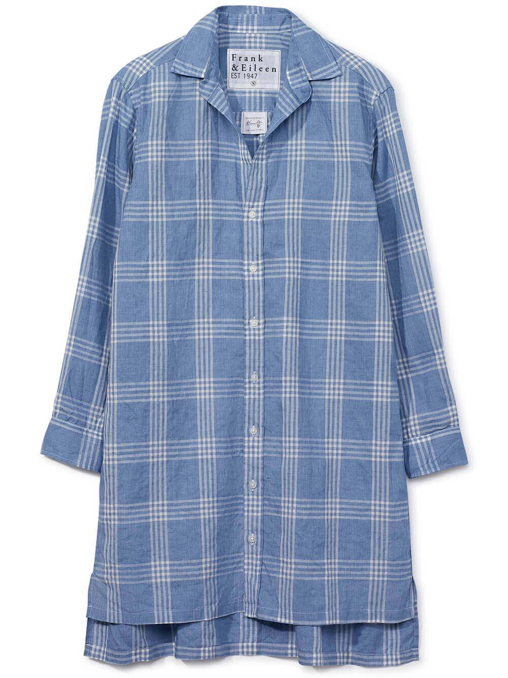 Hunter Woven Plaid Dress Item # HUNTER-LSPL