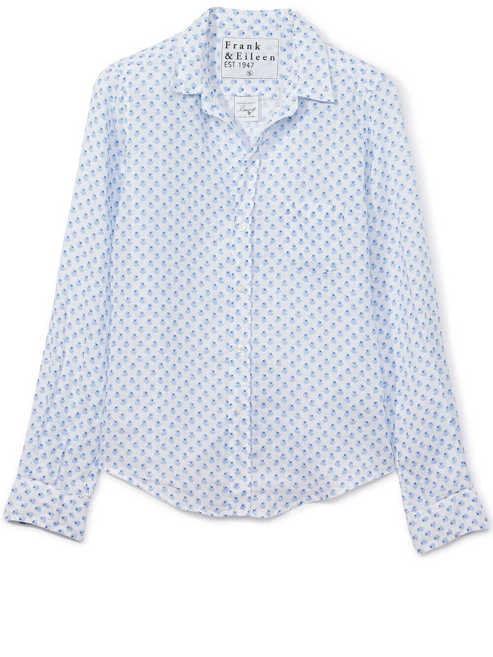 Barry Printed Woven Button Down
