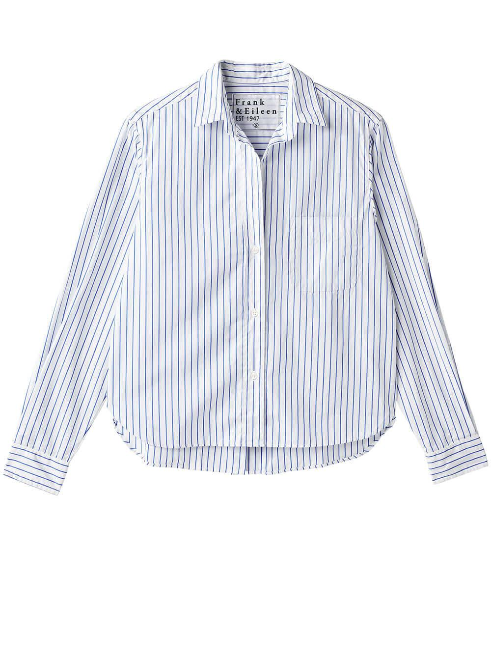 Silvio Striped Woven Button Down