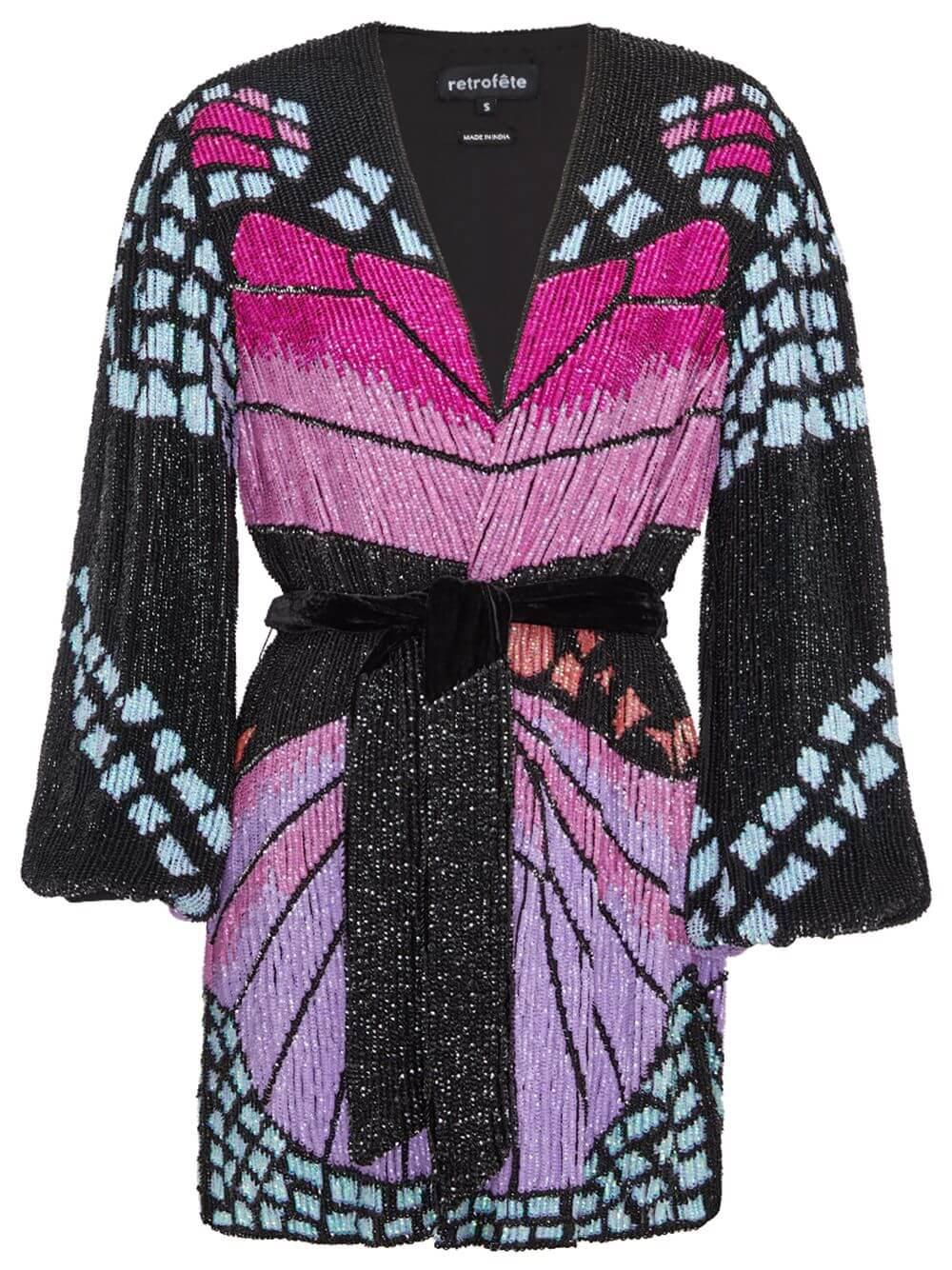 Gabrielle Butterfly Robe Dress