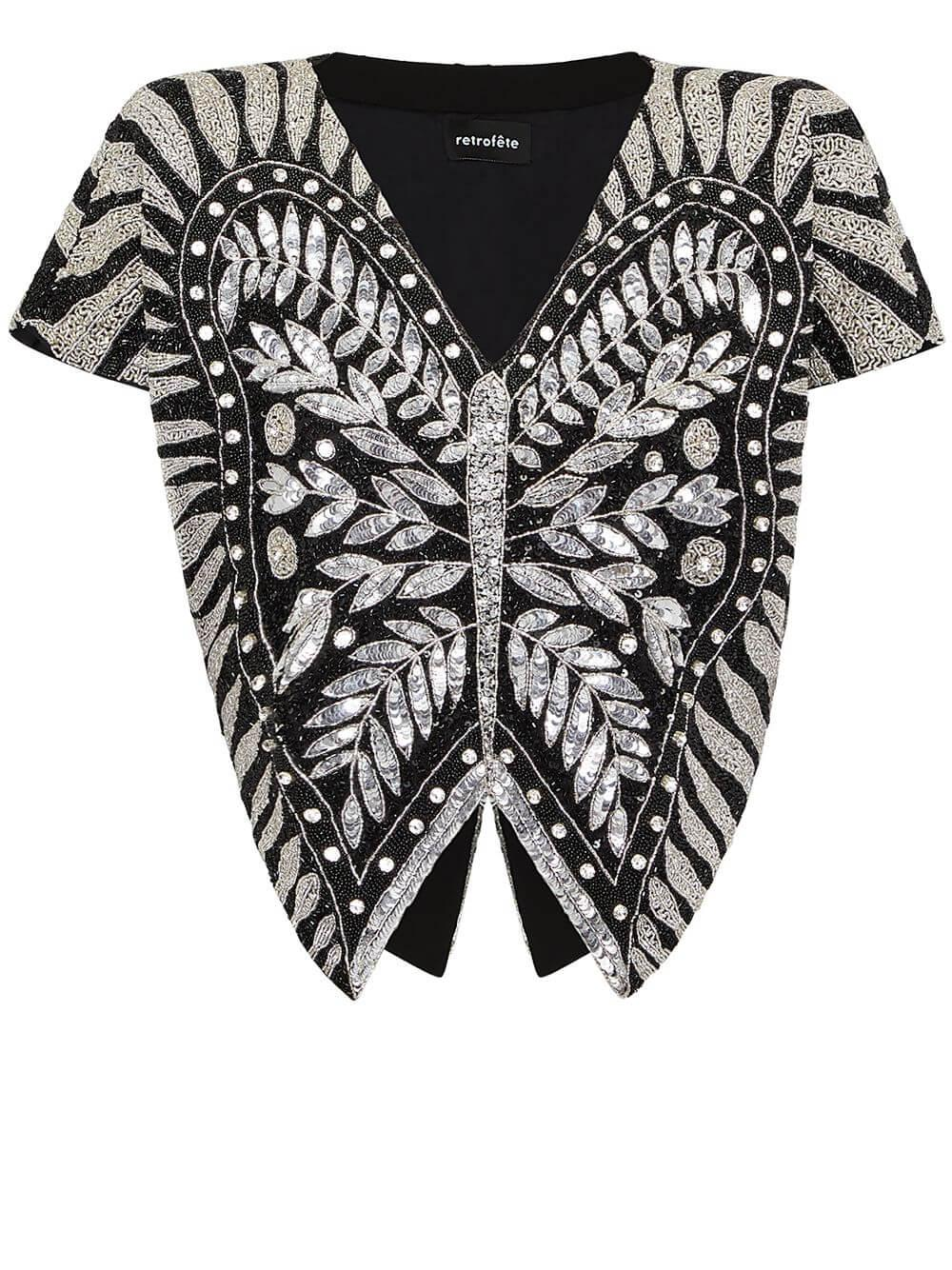 Camila Butterfly Top Item # SS21-3466