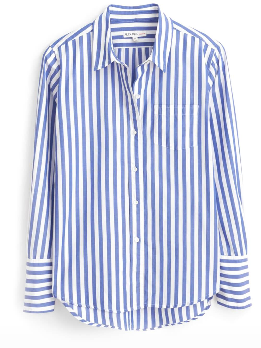 Standard Shirt in Bold Stripe