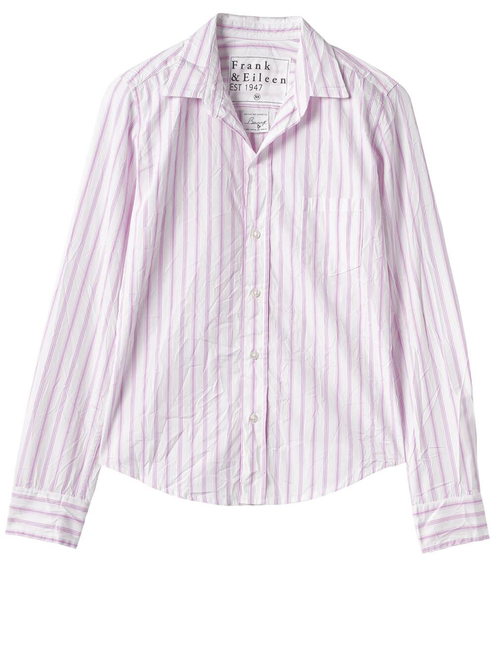 Barry Stripe Woven Button Down