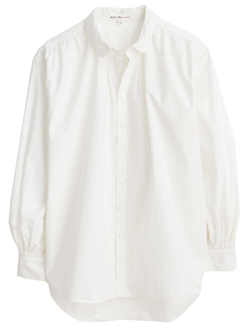 Kit Shirt in Paper Poplin