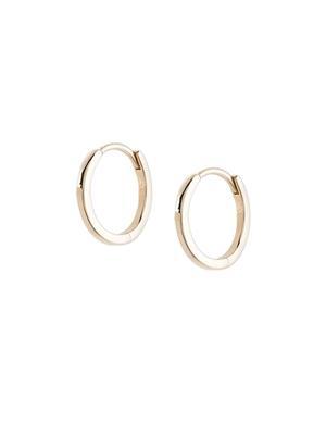 Solid Gold Huggie Earrings
