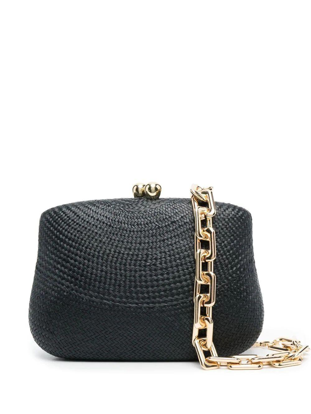 Blair Bun Clutch With Chain