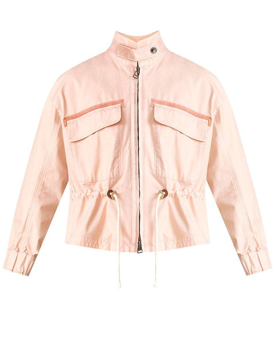 Roz Drawstring Jacket Item # J21049010909BL
