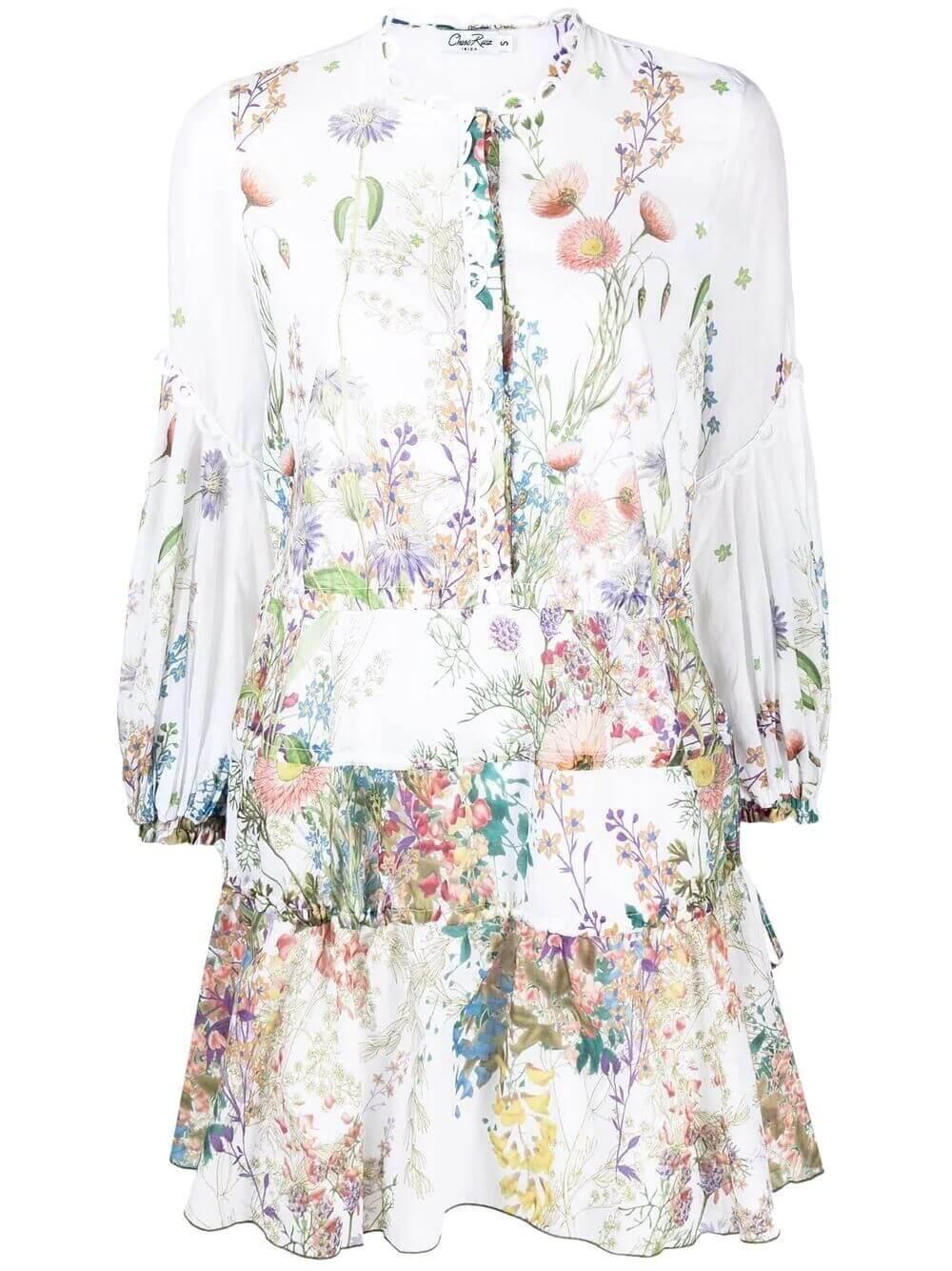 Maureen Botanical Dress