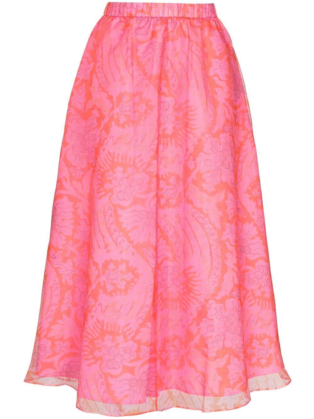 Mattia Midi Skirt Item # 169-4085