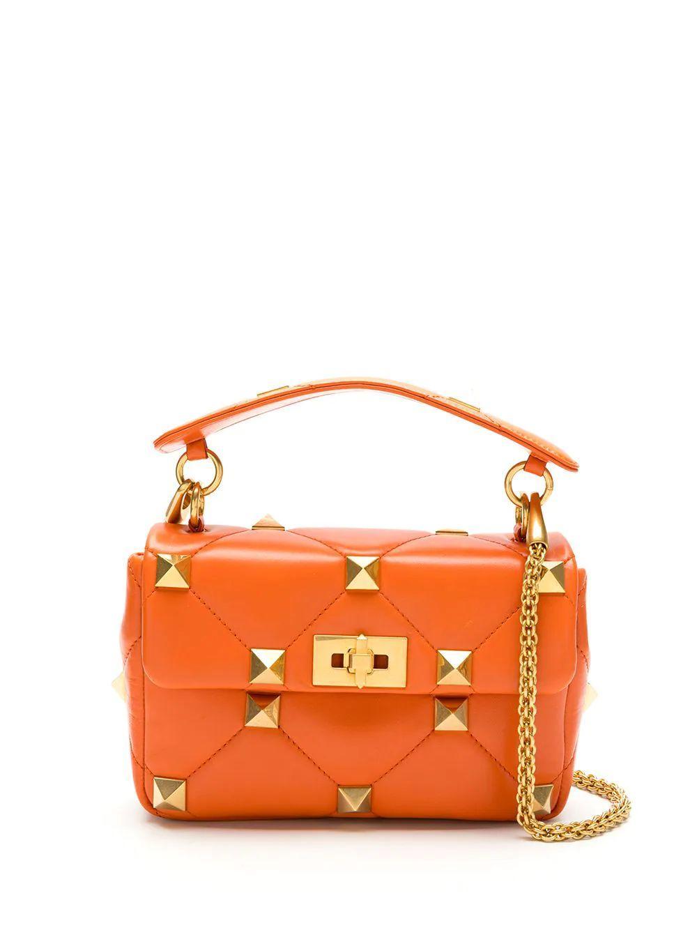 Roman Stud Medium Shoulder Bag