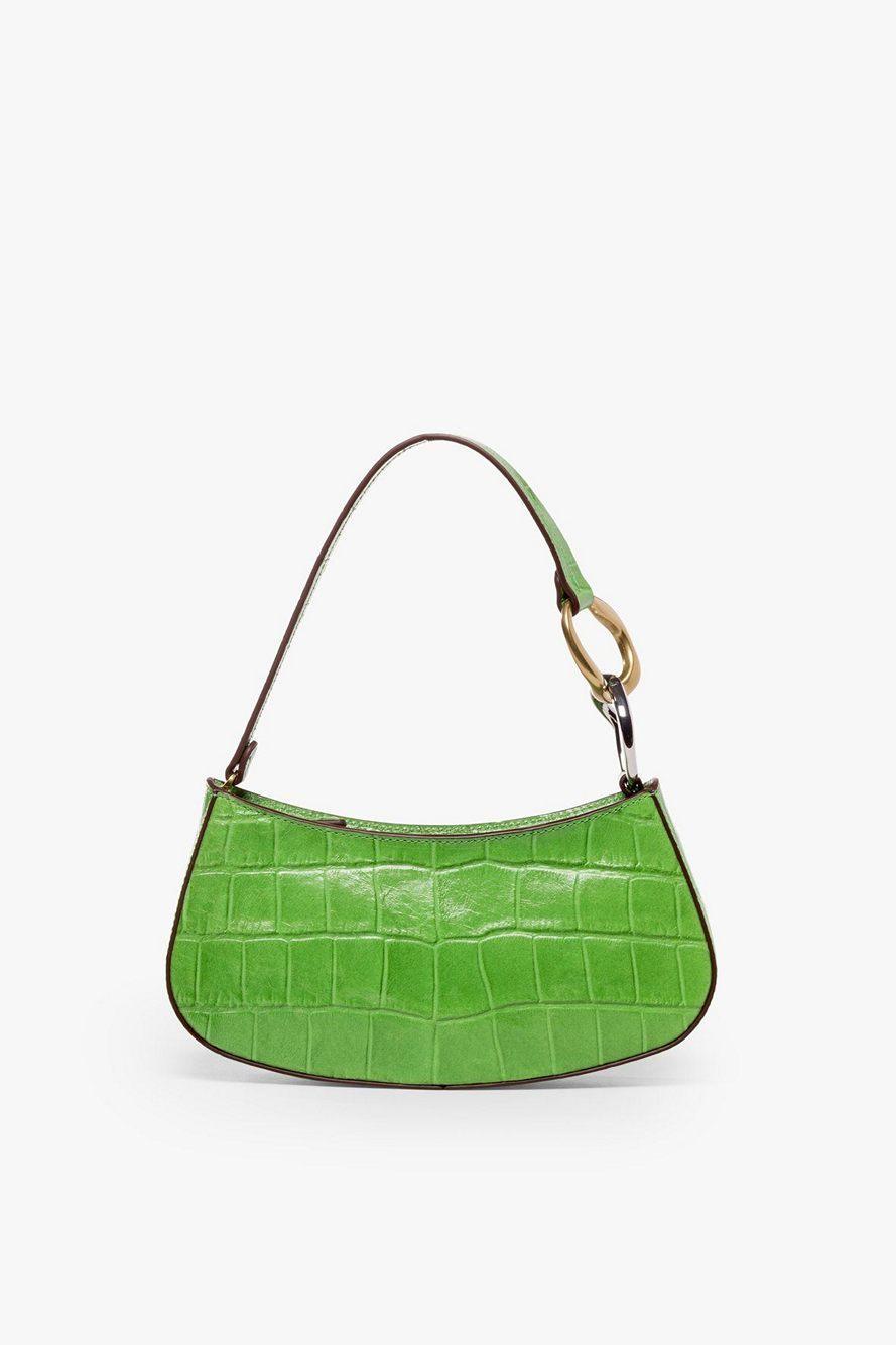 Ollie Croc Shoulder Bag