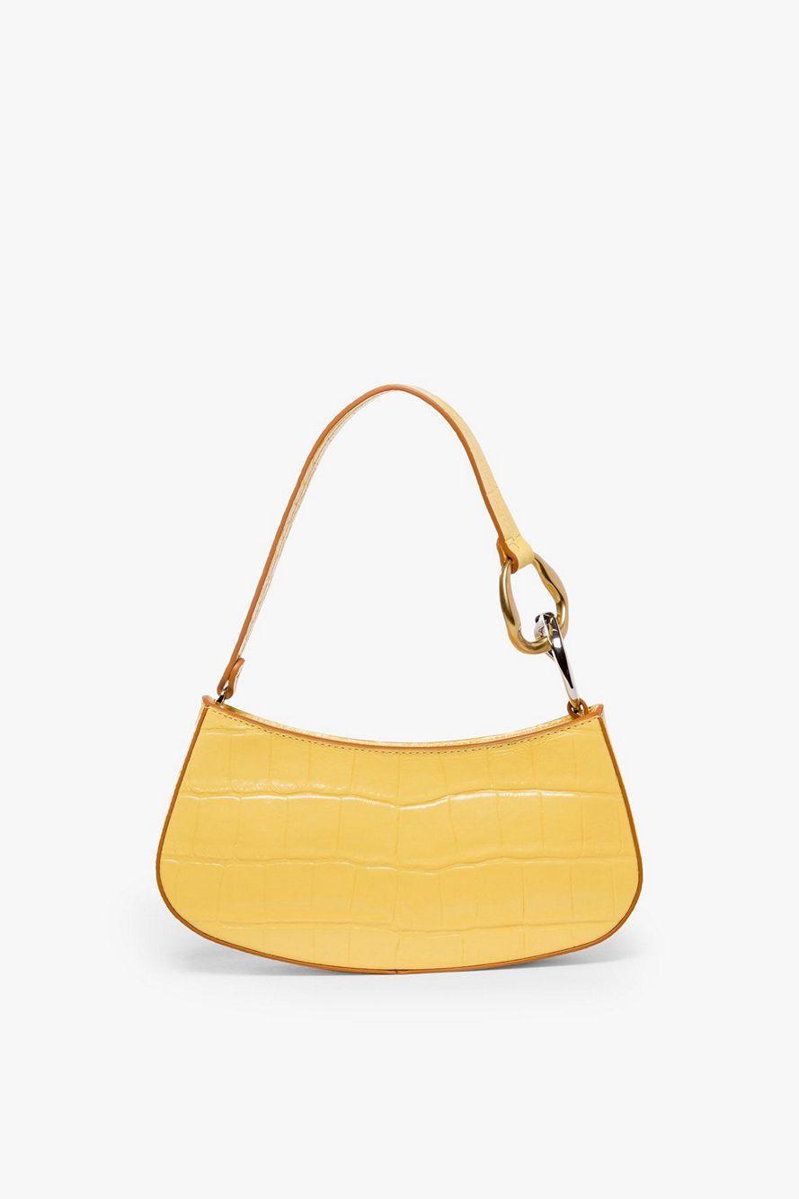 Ollie Croc Shoulder Bag Item # 12-9383