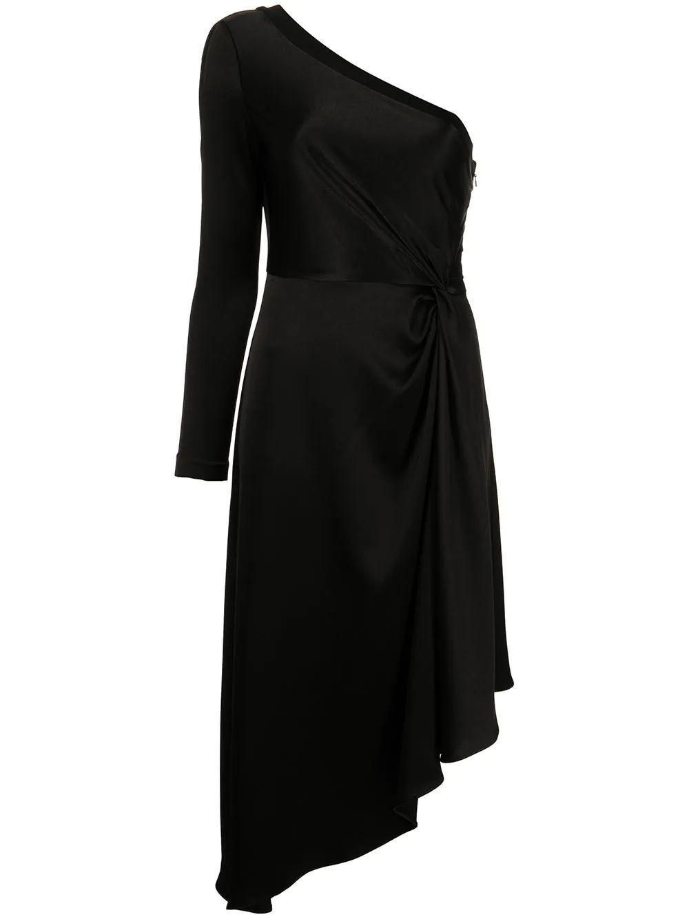 Dora Asymmetrical One Shoulder Dress Item # CC104205519