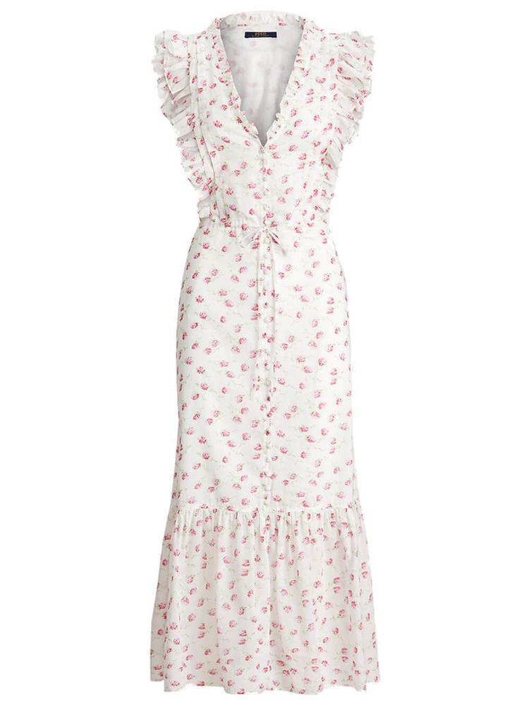 Floral Cotton Dress Item # 211838044001