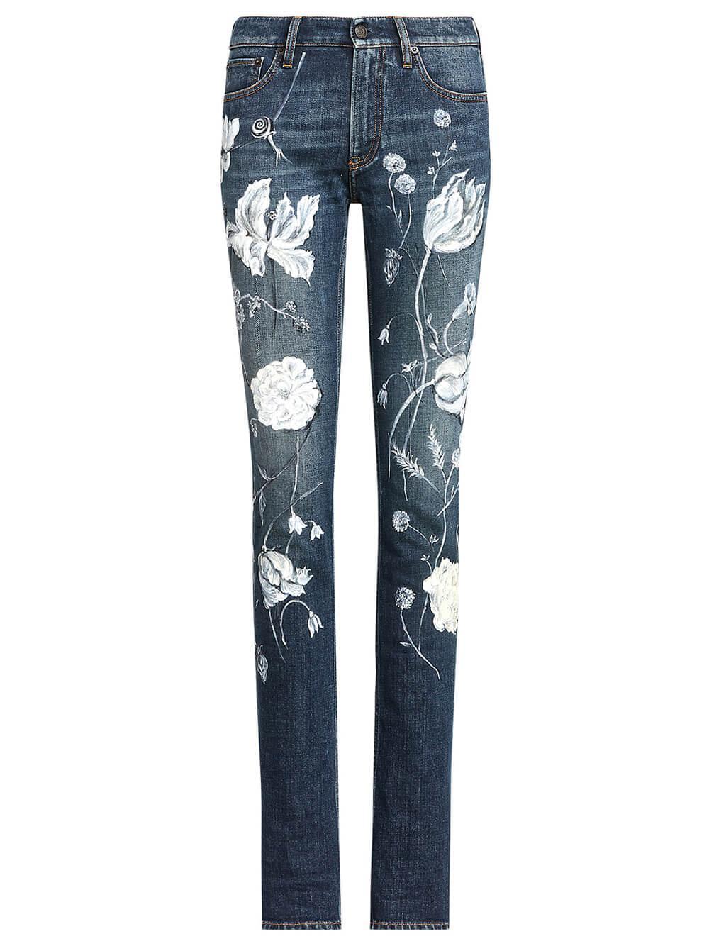 Floral 160 Skinny Jean