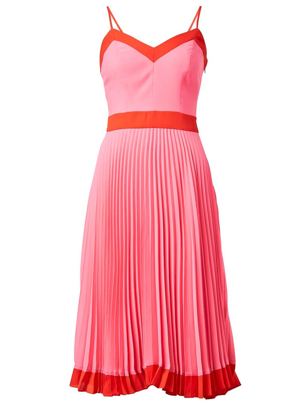 Jill Pleated Dress Item # 15MD-43