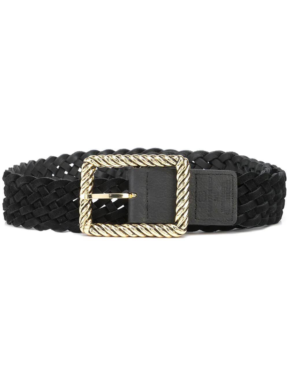 Janelle Braided Belt Item # BH776-465LE