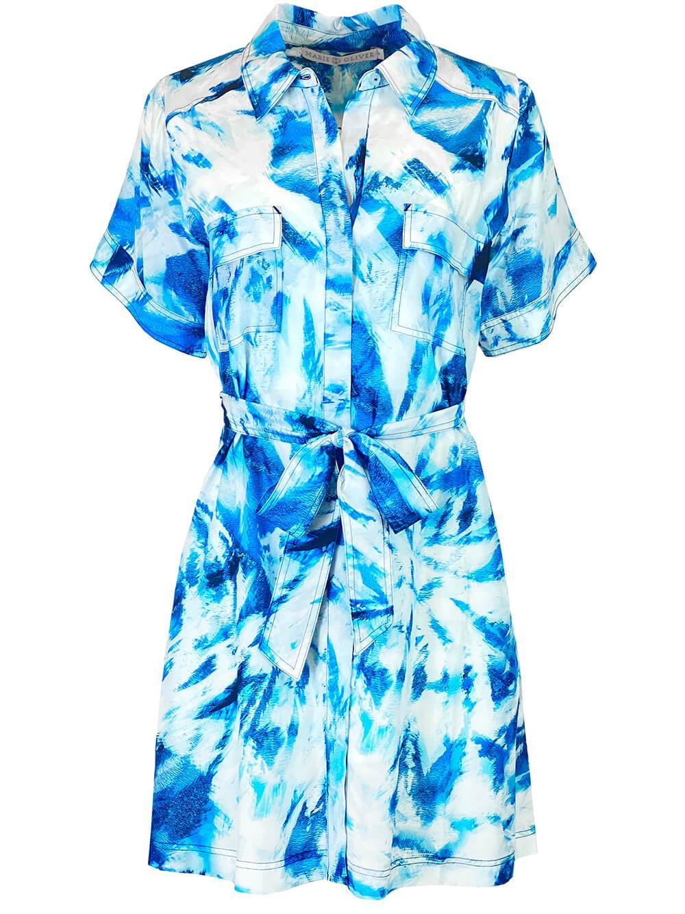 Kali Shirt Dress Item # 2Y5-107-203C