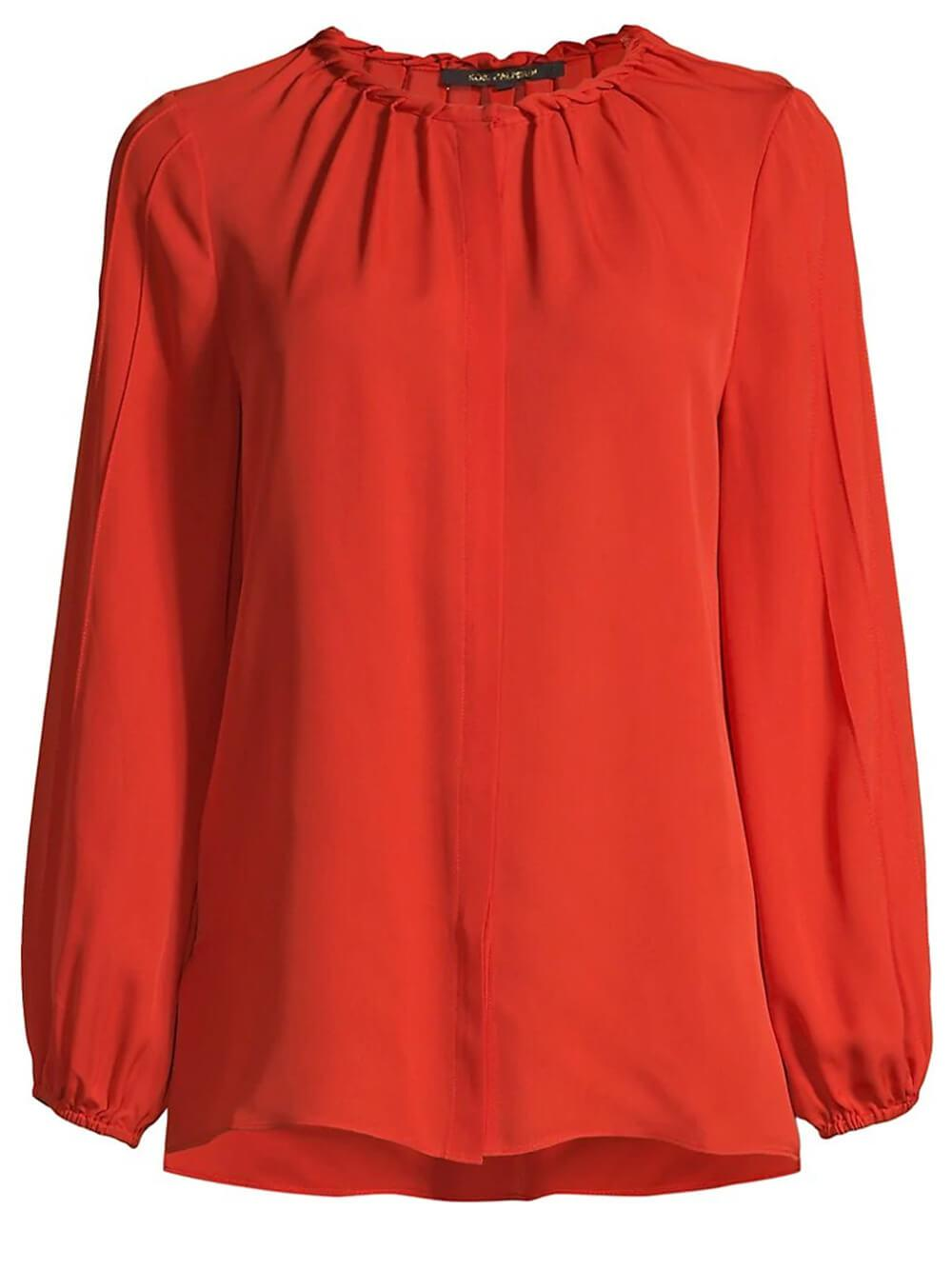Maya Pleated Blouse