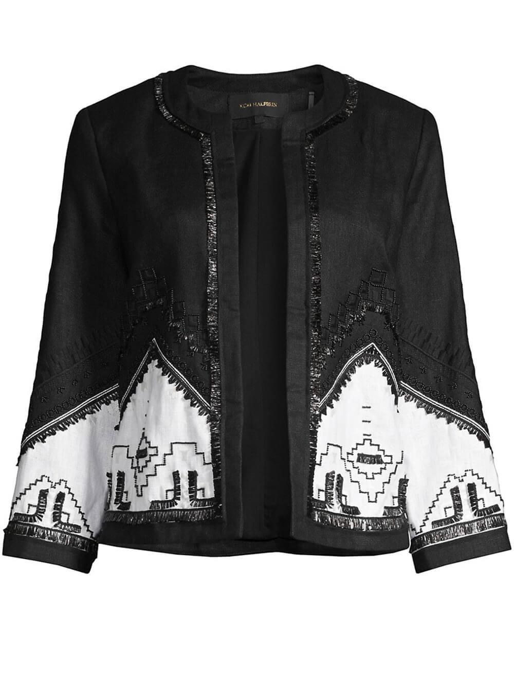Clara Linen Jacket