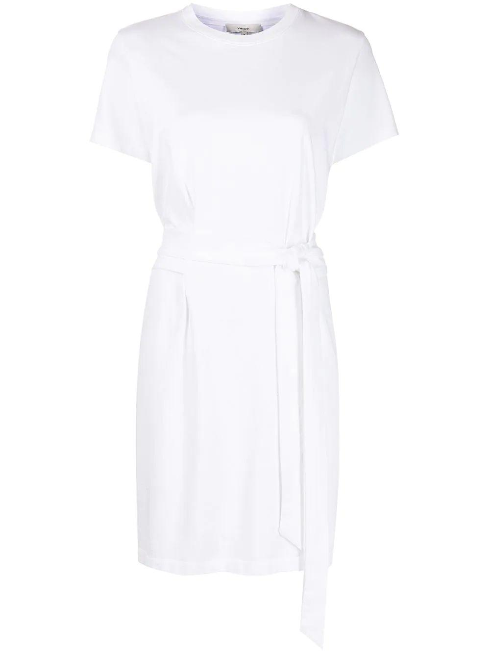 Tie Waist T-Shirt Dress