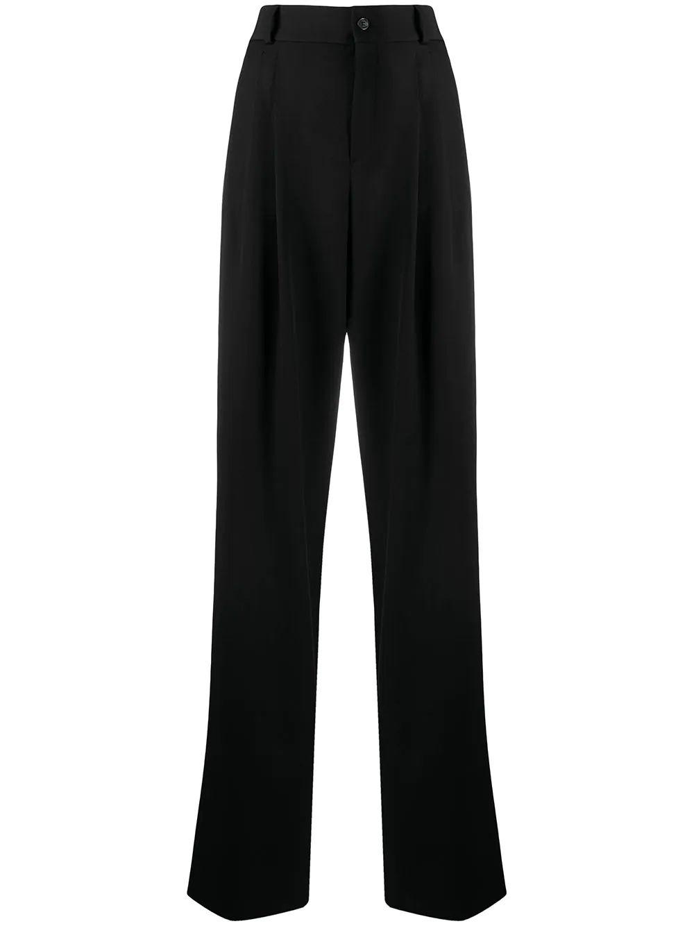 High Waisted Pleated Pant Item # 634975Y512W