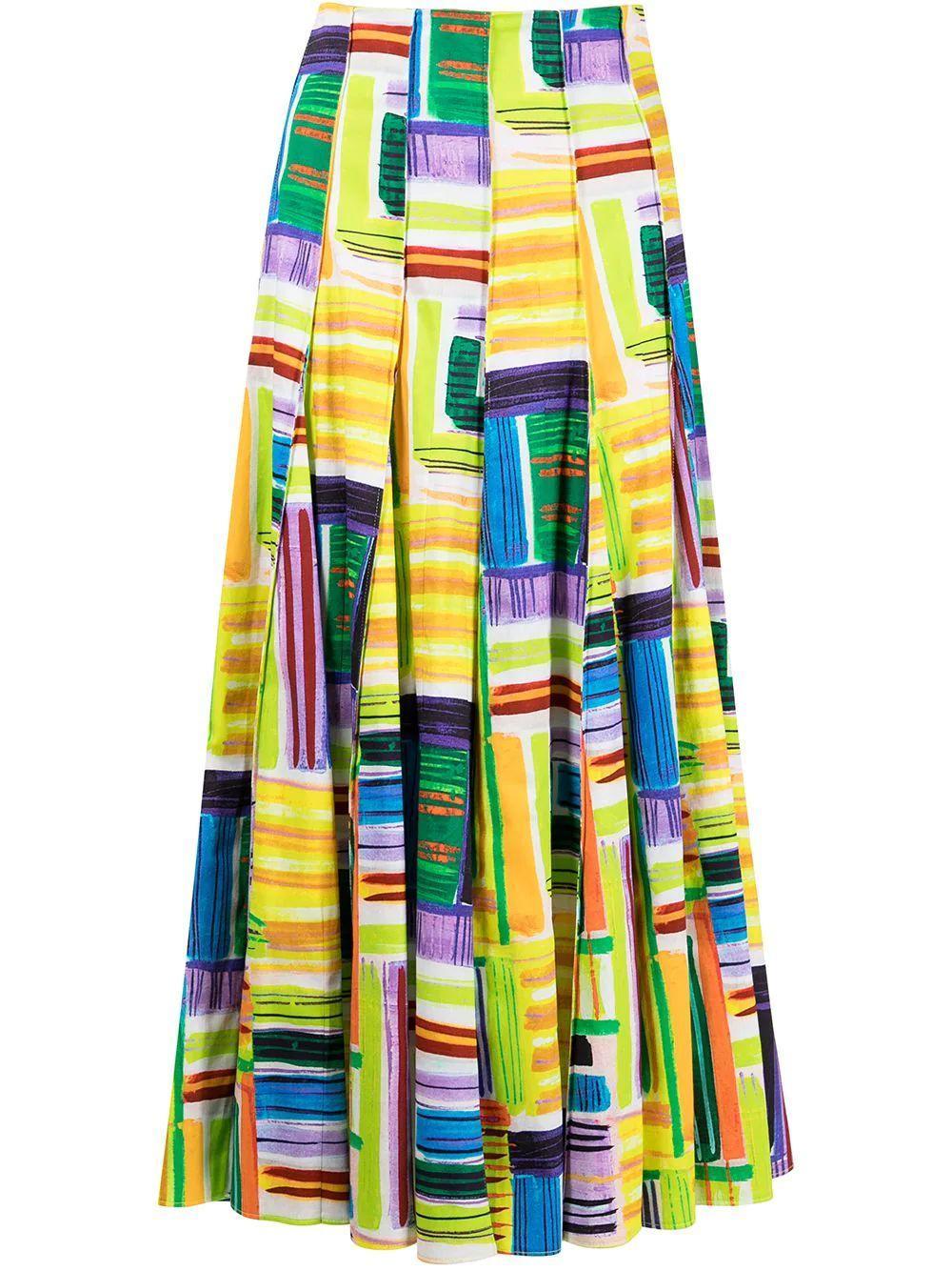 Velleta Pleated Skirt